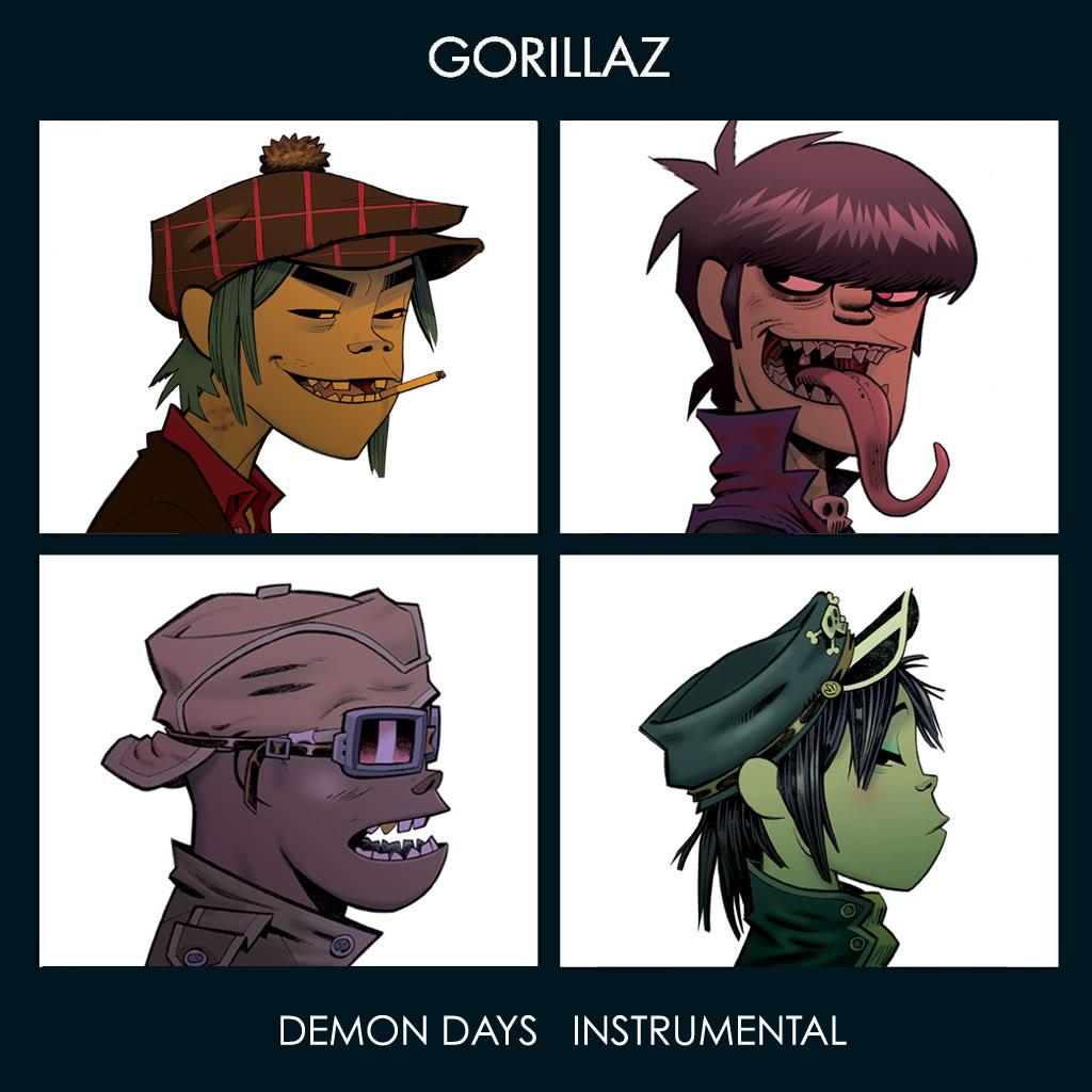 Murdoc Gorillaz Demon Days Gorillaz – Demon Day...